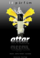 ATTAR perfume poster by zxara