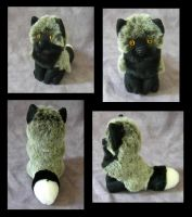 Puffball with Eyes by SarityCreations