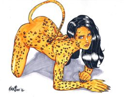 LEOPARD GIRL by EVERETTEHARTSOE