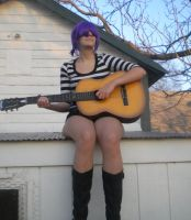 Gorillaz Cosplay: Windmill, Windmill For the Land by 23-hour-party-people