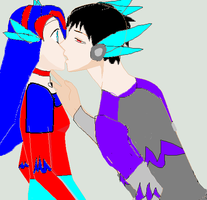 sherly and nesis first kiss by sherlyprime