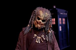 Predator and the TARDIS by cathy001