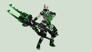[MMD DOWNLOAD] Black Rock Shooter LLWO (Ririo) by M0fD