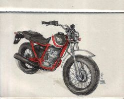 Honda FTR by phongduong