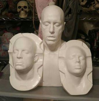 David Mosher FX Sculpting form collection... by propsculptor