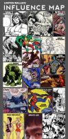 My Influence Map by LostonWallace