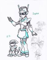 ROBOTS - SOPHIE and J.D. by WMDiscovery93