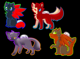 Bladed Feathers Chibi by BlueKoi-Png
