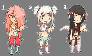 PANEI COLLAB: GORU-DESU-TRAP AUCTION {ONE LEFT} by Kiwi-adopts