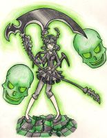 Dead Master coloured by Shaynihx