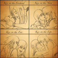 Kiss Meme - Kairi and Riku by Rebmakash