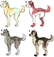 Point Adoptables 5 - GONE by Railguns