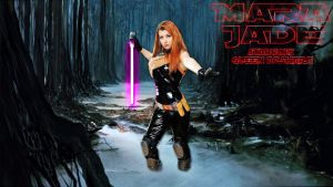 Mara Jade cosplay wp 2 starring Queen Azshara by SWFan1977