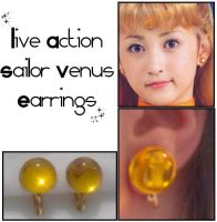 PGSM Sailor Venus Earrings by Topaz-Jewelry