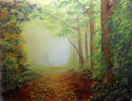 'Leafy Path' by MountainInspirations