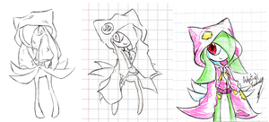 Street Kirlia Concepts by Adept-eX
