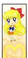 Sailor Venus Bookmark by MaddyLineArt
