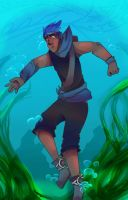 Dylan's water level by Bunnymuse