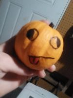 Derpy Halloween pumpkin (OMG IT'S SO CUTE ) by TheGame22q