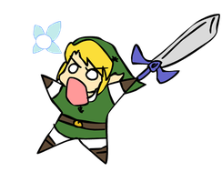 Link, he come to town by chikisingergrl