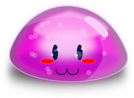 Purple Blob by Inextasie