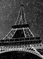 Snowing in here by Guidalicious