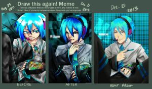 Mikuo Before And After and After Again by TheLovelessNeko