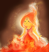 flame princess by xSaria
