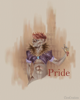 7 deadly sins-Pride by CleosCreations