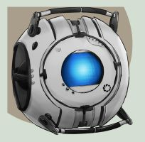 Wheatley by DeviantDolphinART