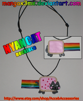 Necklace - NYANCAT by MangaX3me