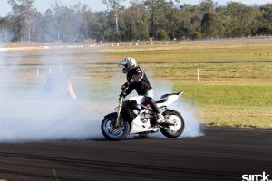 bike burnout by small-sk8er