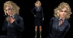 MGS peace walker - Paz (xps only) by Saskeni