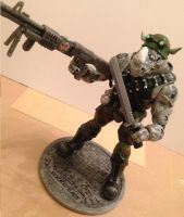 Custom TMNT Rocksteady by Derrico13