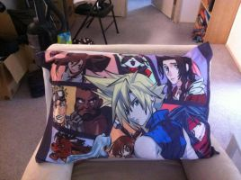 FFVII Pillowcase by TheSpyWhoLuvedMe
