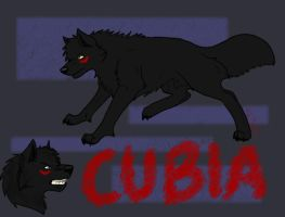 Cubia - A Monster by wolfyrose623
