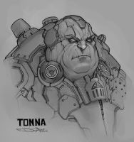 Tonna Sketch by Boris-Dyatlov
