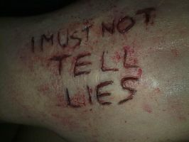 I must not tell lies by antaale