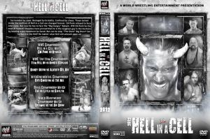 WWE Hell in a Cell 2012 DVD V5 Cover by Chirantha