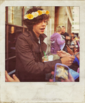 Harry and flowers... by YummyBiscuit