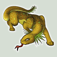 Fakemon Questing Beast by shadixART