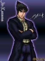 Jin Kazama Corporate by TheALVINtaker