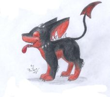 TM- Lil doggie from hell by punki123