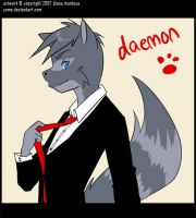 daemon commission by yume