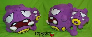 Weezing Plush by Astreum87