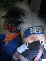 Kakashi i Obito by Darca23