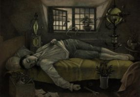 Neither death, nor Chatterton by CopperAge