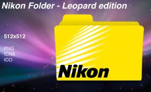 Nikon Folder - Leopard Edition by MacUserx86