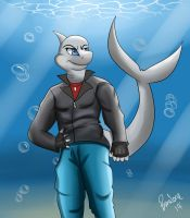 Lempiy the Shark by The-B-Meister