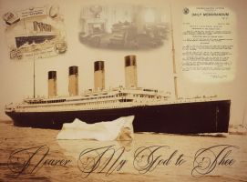 In Memoriam to Titanic- 103 Years by RMS-OLYMPIC